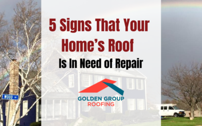 5 Signs That Your Home's Roof Is In Need of Repair