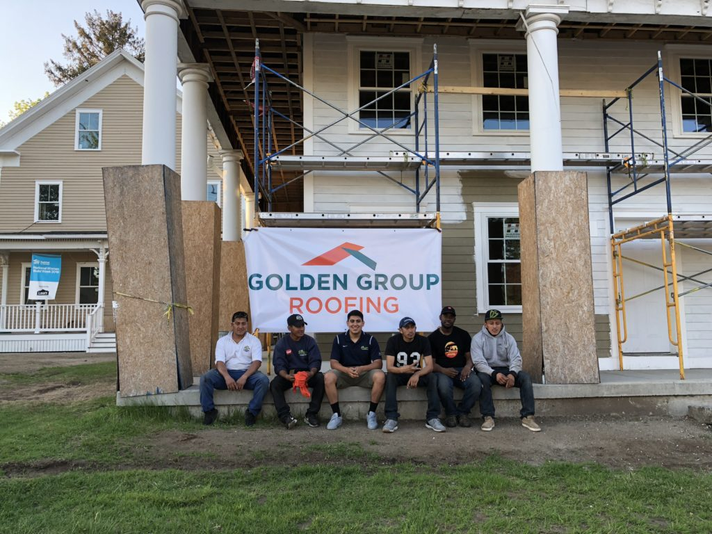Golden Group Roofing and Habitat for Humanity
