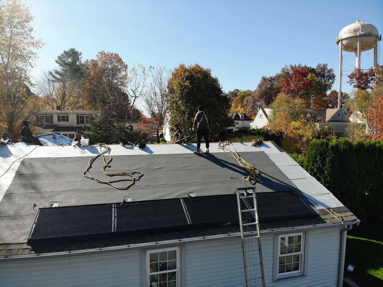 Solar Panel Installation with GAF DecoTech