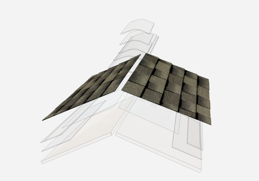 GAF Timberline Shingles Diagram