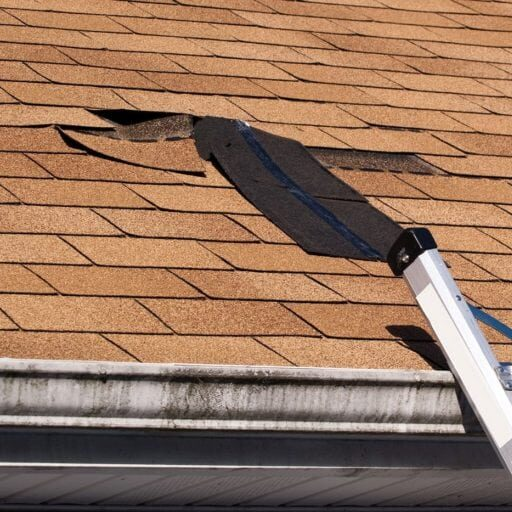 lifting shingles