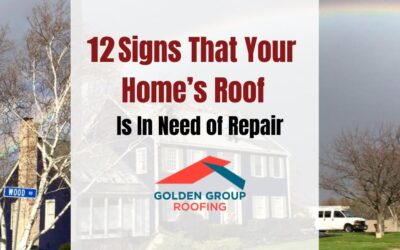 12 signs you need roof repairs