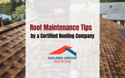Roof Maintenance Tips by a Certified Roofing Company