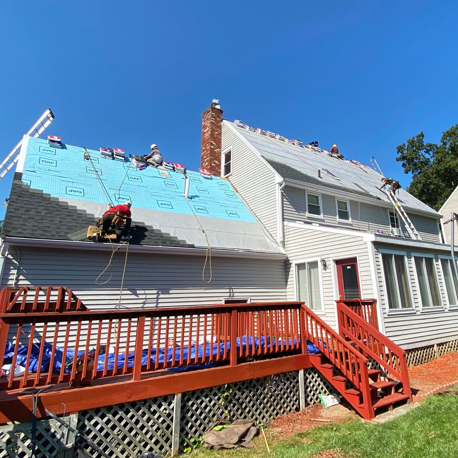 Solar System and Roofing in Shrewsbury, Massachusetts