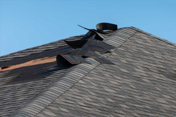 strong wind roof damage