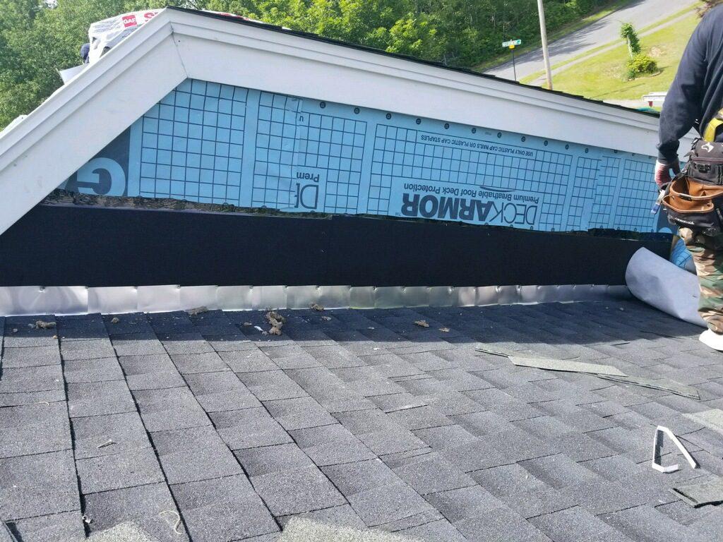 Arlington GAF Roofing finished project