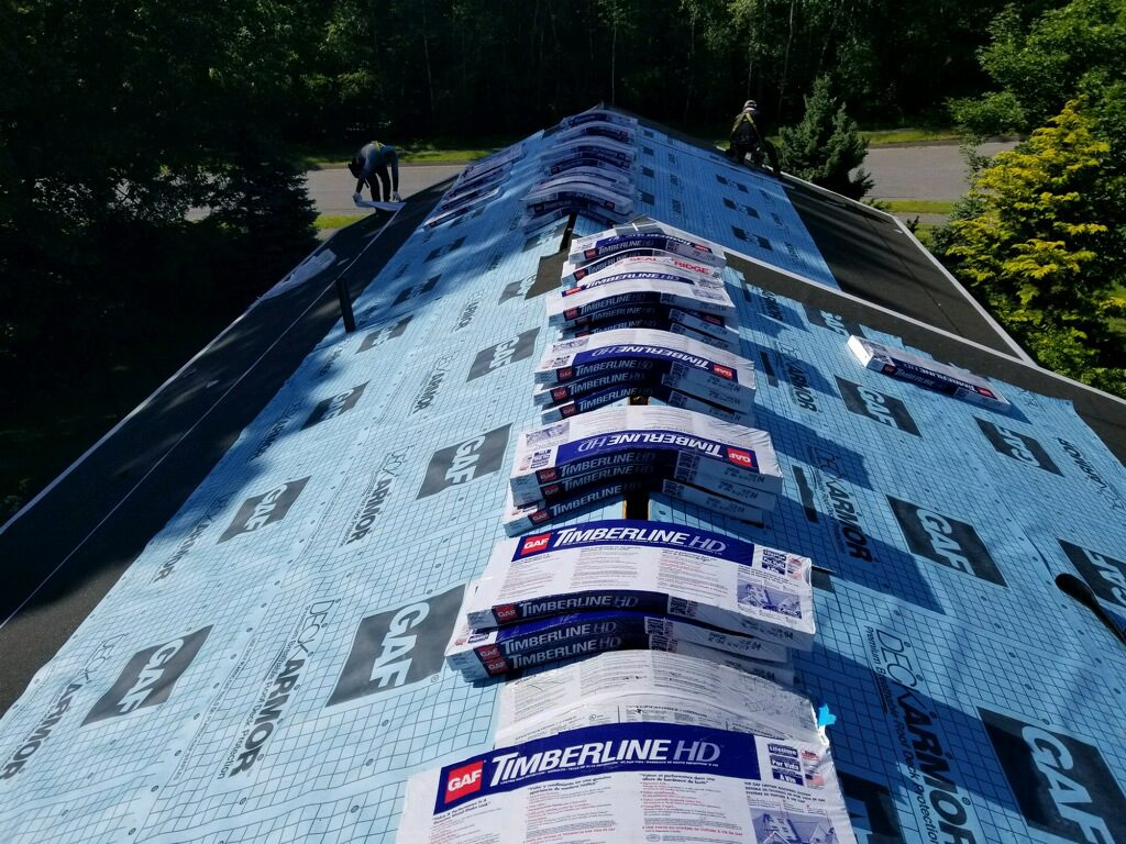 roof replacement in Dedham MA