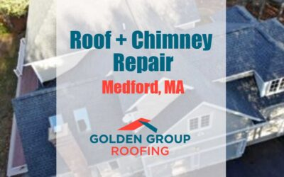 Fixing Chimney Leaks & Roof Repair in Medford MA