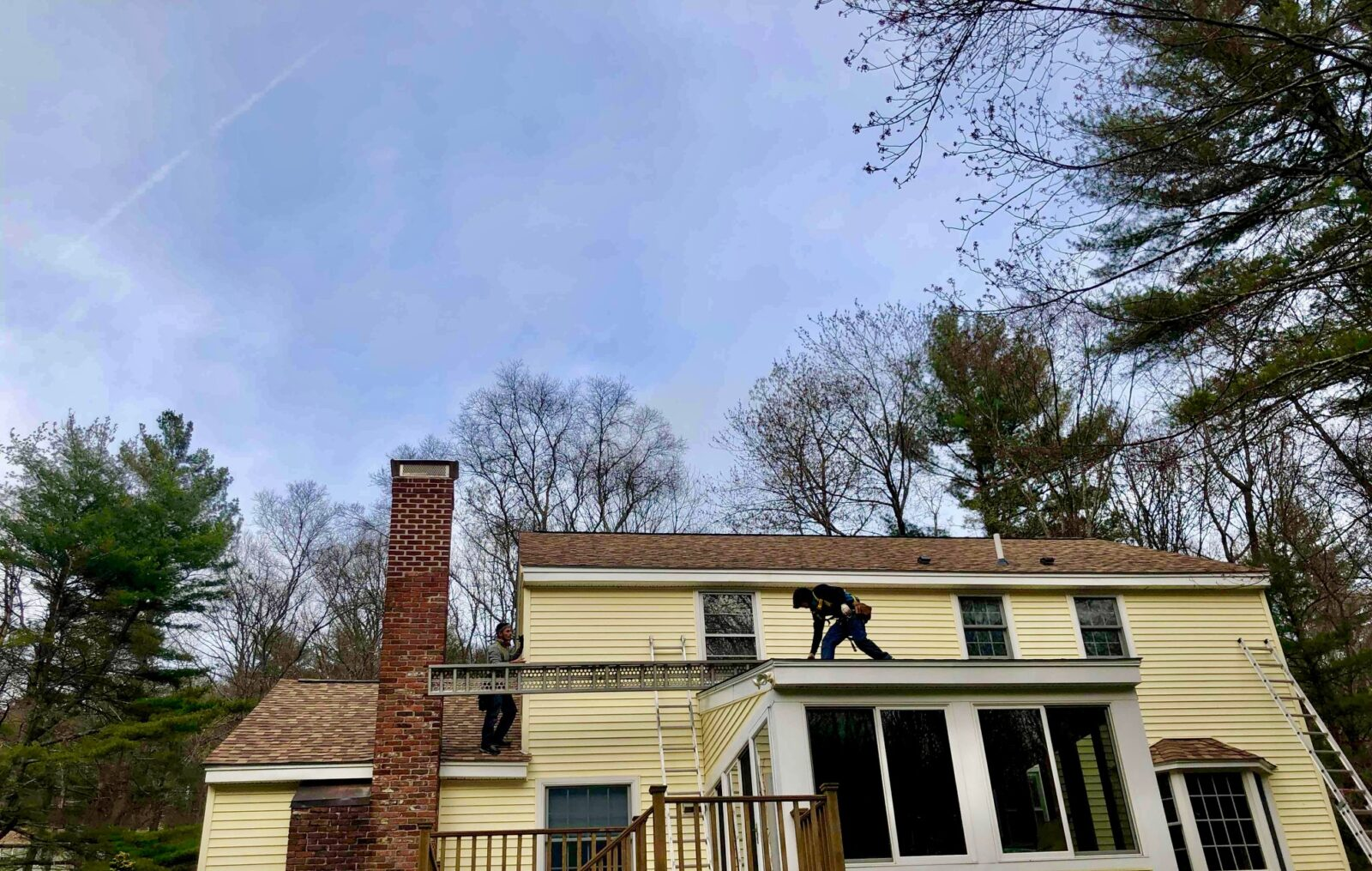 Roof replacement in Stow, MA