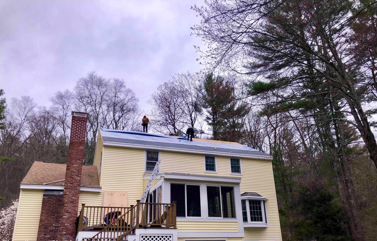 Stow, MA roof replacement