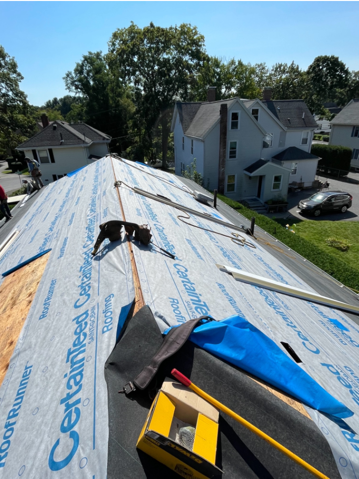 Roof Replacement in Natick, MA